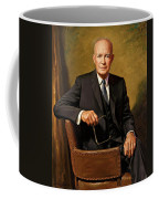 President Dwight D. Eisenhower By J. Anthony Wills Coffee Mug