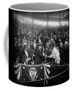 President Herbert Hoover And Baseball Great Walter Johnson 1931 Coffee Mug