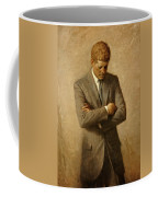 President John F. Kennedy Official Portrait By Aaron Shikler Coffee Mug by Movie Poster Prints