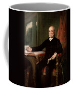 President John Quincy Adams  Coffee Mug by War Is Hell Store