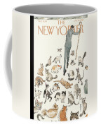 President Obama Attempts To Herd Cats Coffee Mug