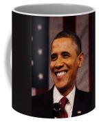 President Obama Coffee Mug by Mim White