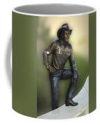 President Ronald Reagan Statue Coffee Mug