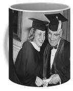 President Truman And Daughter Coffee Mug