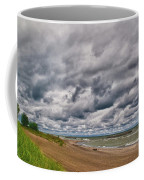 Presque Isle Beach 12061 Coffee Mug