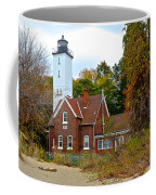 Presque Isle Lighthouse Coffee Mug by Frozen in Time Fine Art Photography