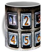 Press Three And Try Again Coffee Mug by Bob Orsillo