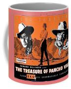 Pressbook The Treasure Of Pancho Villa 1955 Coffee Mug