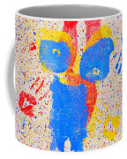 Pressed Paint Coffee Mug