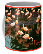 Pretty Flamingos Coffee Mug