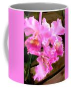 Pretty In Pink Cattleya Orchids Coffee Mug
