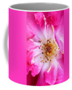 Pretty In Pink Rose Close Up Coffee Mug