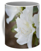 Pretty In White Azalea  Coffee Mug