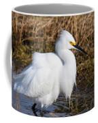 Pretty In White Coffee Mug