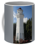 Pretty Lighthouse In Decatur Alabama  Coffee Mug
