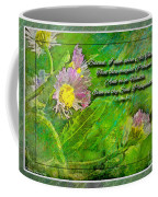 Pretty Little Weeds With Photoart And Verse Coffee Mug