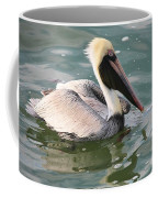 Pretty Pelican In Pond Coffee Mug