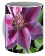 Pretty Pink Clematis Coffee Mug