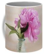 Pretty Pink Peony Coffee Mug