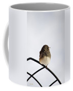 Pretty Winter Junco Coffee Mug by Christina Rollo