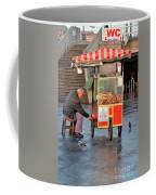 Pretzel Seller With Pushcart Istanbul Turkey Coffee Mug