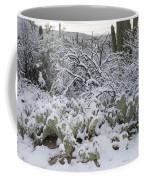 Prickly Pear And Saguaro Cacti Coffee Mug