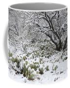 Prickly Pear Cactus And Mesquite Tree Coffee Mug