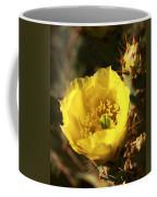Prickly Pear Flower Coffee Mug