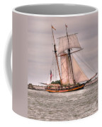 Pride Of Baltimore Coffee Mug by Kathleen Struckle