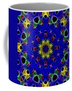 Primary Colors Fractal Kaleidoscope Coffee Mug