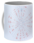 Prime Number Pattern P Mod 40 Coffee Mug by Jason Padgett