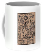 Primitive Crucifixion Coffee Mug