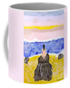 Primitive Woman Crouching Coffee Mug