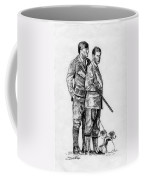 Prince Charles Hunting Coffee Mug