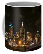 Princes Bridge And Skyline Coffee Mug
