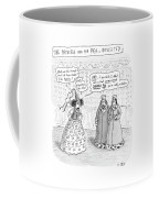 Princes Complains About Thread Count Of Sheets Coffee Mug