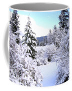 Pristine Winter Trail Coffee Mug