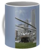 Pritzker South Facade Vertical Coffee Mug