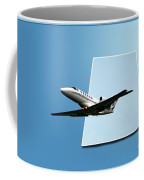 Private Jet Chicago Airplanes 14 Coffee Mug