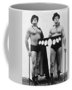 Pro Wrestlers Portrait Coffee Mug