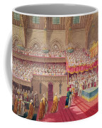 Procession Of The Dean And Prebendaries Of Westminster Bearing The Regalia, From An Album Coffee Mug