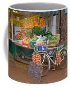 Produce Market In Corbridge Coffee Mug