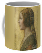 Profile Of A Young Fiancee Coffee Mug