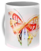 Profound Thought Butterfly Coffee Mug