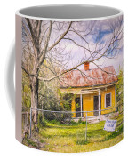 Promoting The Obvious - Paint Sketch Coffee Mug