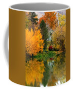 Prosser - Fall Reflection With Hills Coffee Mug
