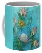 Protea Flower Study I Coffee Mug