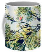 Protea Repens Maui Hawaii Sugarbush Coffee Mug