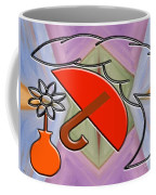 Protected By The Light Of Love Coffee Mug by Patrick J Murphy