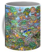 Protecting Mr. Bluefin  Coffee Mug by Betsy Knapp